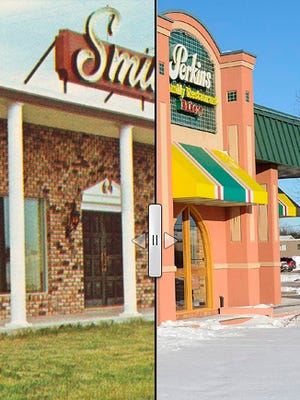 How Smitty's became Perkins  on 41st Street.