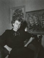 Isabelle Johnson in the 1940s.