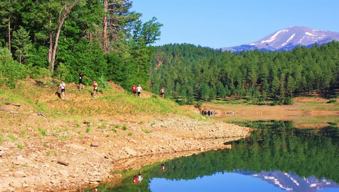 Spectacular scenery and weather welcomed runners in a previous Grindstone triple wave event.