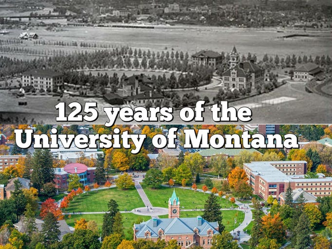 The University of Montana was chartered 125 years ago.