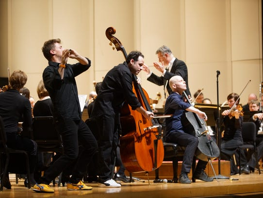 PROJECT Trio and the Evansville Philharmonic Orchestra
