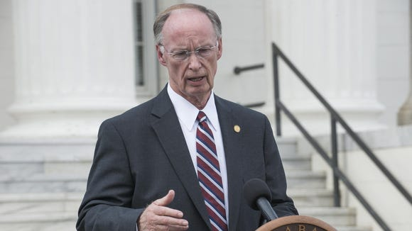 Gov. Robert Bentley Bentley last month announced that