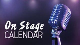 On Stage Calendar Header, Graphic Illustration