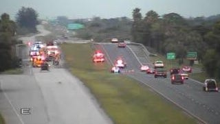 The Beachline traffic is blocked after a fatal accident.