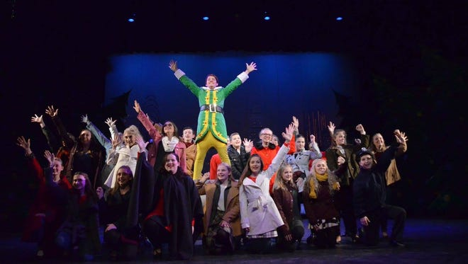 """Springfield Little Theatre's first production of """"Elf Jr.: The Musical"""" opened the day after Thanksgiving and continues its run through Dec. 10."""