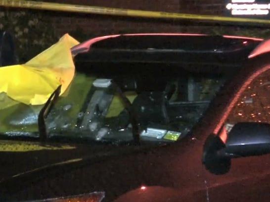 Pelham bullet pocked car