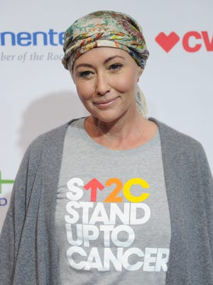 """Shannen Doherty says, """"Now that I'm done with chemo and radiation, the waiting game is here."""""""