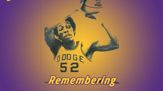 Dodge City Community College remembers basketball great Larry Dassie, who died 34 years ago. SUBMITTED PHOTO