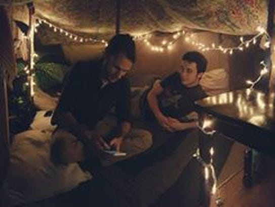 Blanket forts and Netflix.