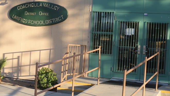 Coachella Valley Unified School District office.
