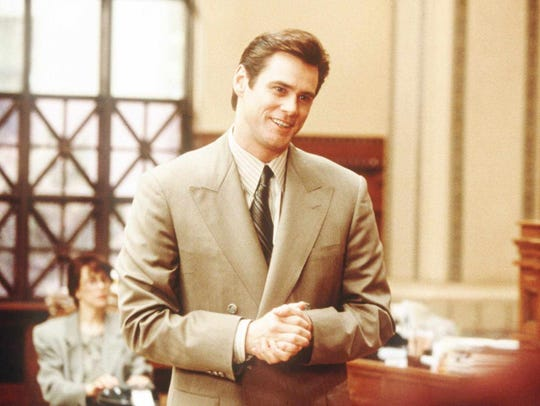 "Jim Carrey stars in ""Liar Liar."""