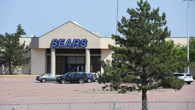Sears building shown in Sioux Falls, S.D. Friday, June 15, 2018.