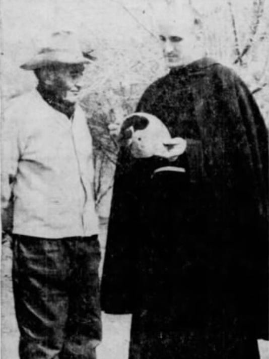 ROBERT GERONIMO, FATHER JOHN BORLEY