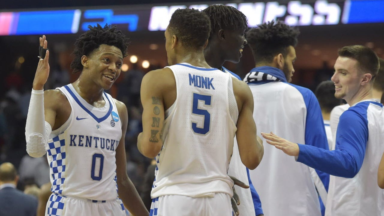 USA TODAY Sports' Nancy Armour recaps wins by North Carolina and Kentucky on Friday in the NCAA tournament's Sweet 16.