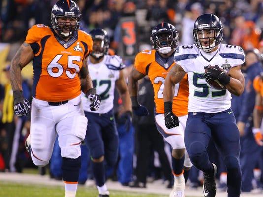 NFL: Super Bowl XLVIII-Denver Broncos vs Seattle Seahawks