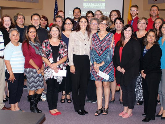 LCPS Teacher Grant Recipients
