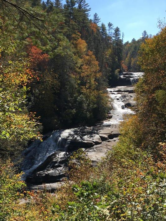 Triple Falls all 3 cascades