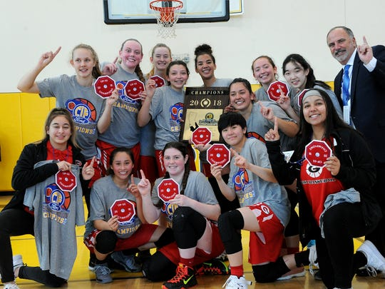 After winning the CIF-SS Division 5AA title last season, the Grace Brethren girls basketball program has been moved up to Division 3A for this season.