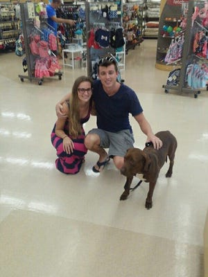 Brownie's new family has discovered she likes to shop.