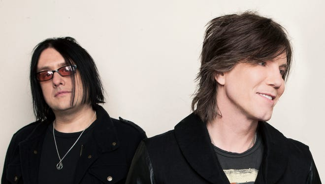 Goo Goo Dolls, from left, Robbie Takac and Johnny Rzeznik.