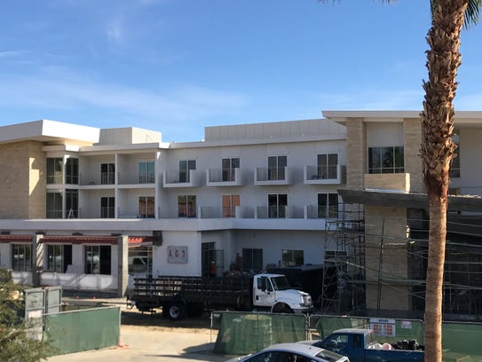 Construction continues at Hotel Paseo on Larkspur Lane