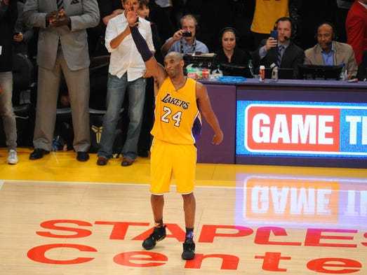 In the final game of his storied 20-year career, Kobe
