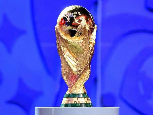 EPA RUSSIA PRELIMINARY DRAW FIFA WORLD CUP 2018 SPO SOCCER RUS