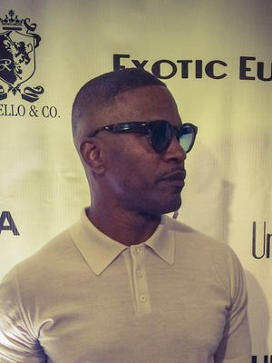 Jamie Foxx at this party on Thursday night at the W Scottsdale.