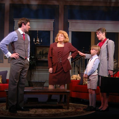 """Hayley Hellums stars in New Moon Theatre Company's """"Cuddles,"""" playing Oct. 21-Nov. 6 at TheatreWorks."""