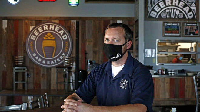 Jarod Klever is general manager of Beerhead Bar & Eatery in Westerville, which has 350 unique beer selections, including 50 on tap in a regular rotation.