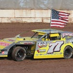 Fremont's Mike Wedelstadt competed at two dirt tracks on the same night on Aug. 30. Wedelstadt raced at Oshkosh Speedzone first where he won the King of the Ring race. He then hustled to Seymour Speedway where he placed fifth.