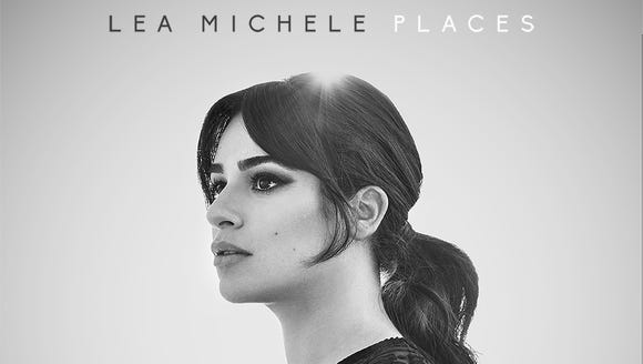 The cover for Michele's new album 'Places.