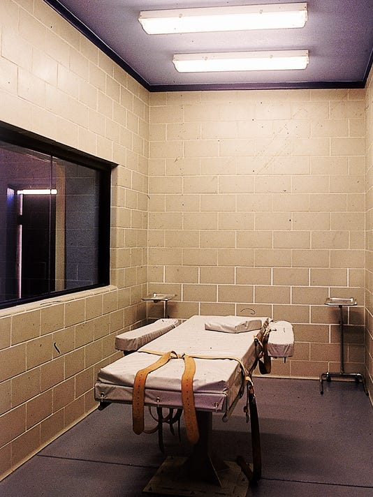 Lethal injection execution chamber