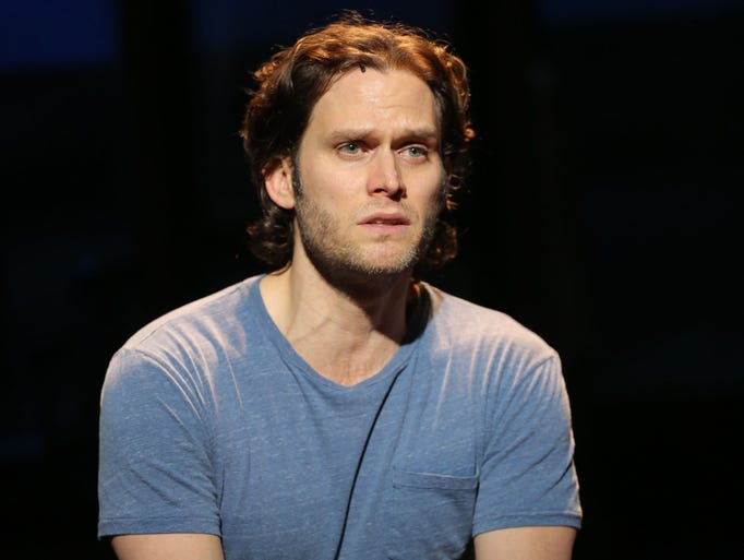 Steven Pasquale in The Bridges of Madison County at the Gerald Schoenfeld Theatre in New York. Based on the novel set in Iowa, the Broadway musical opens on Feb. 20, 2014.
