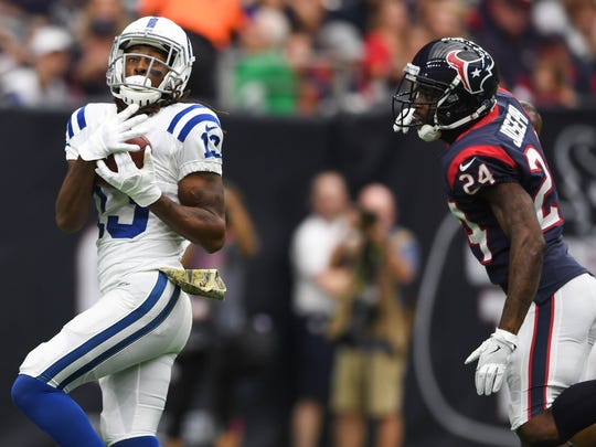 Wide receiver T.Y. Hilton is the Colts most dynamic offensive player.