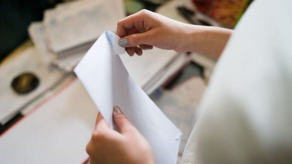 Letters are personalized, permanent, and tangible mementos.