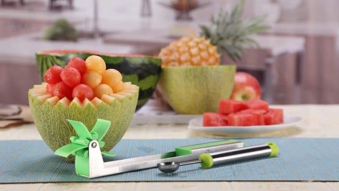 Scooping up watermelon has never been easier.