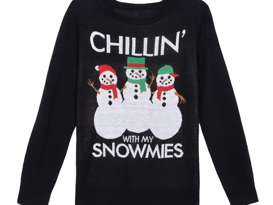 For the more playful ugly Christmas sweater enthusiast.