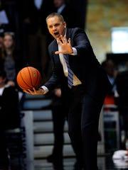 Butler coach Chris Holtmann took over for the Bulldogs