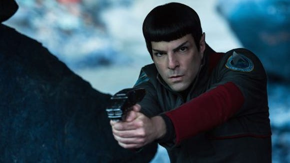 "Zachary Quinto plays Commander Spock in ""Star Trek"