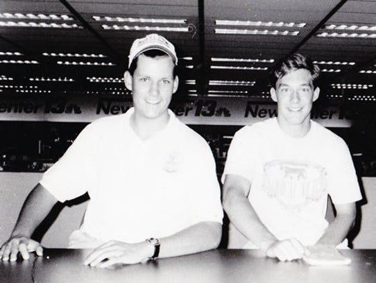 Daniel Finney and Tyler Teske, a couple of East High