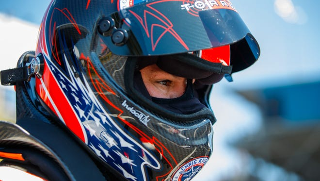 Steve Torrence, shown at Gainesville, Fla., in March, notched his first win of the year.