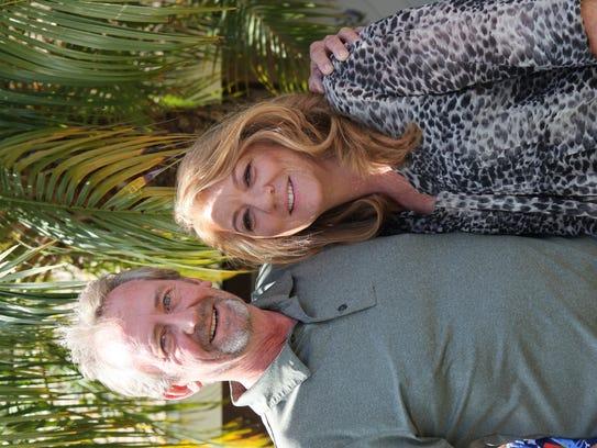 Brandon Reisdorf's parents, Gary and Lois.