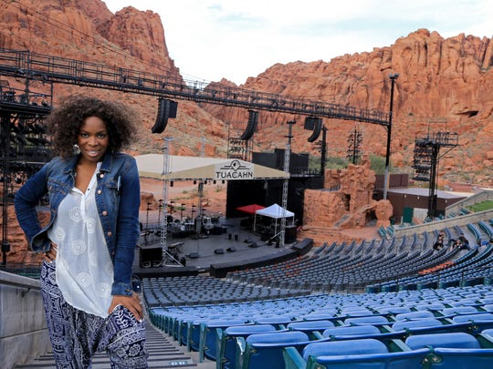 DeeDee Foster, background singer for Culture Club,