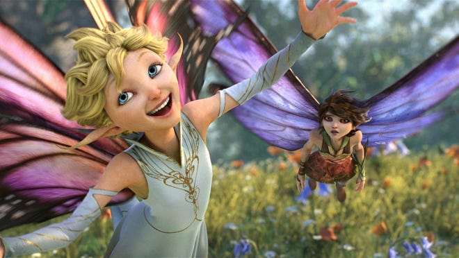 "Dawn (voice of Meredith Anne Bull) is crazy for love, while her sister Marianne (Evan Rachel Wood) takes a different stance in ""Strange Magic,"" a madcap fairy tale told through popular songs from the past six decades."