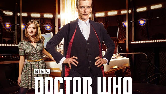 Clara (Jenna Coleman) and The Doctor (Peter Capaldi) star in the new series of 'Doctor Who,' premiering Aug. 23 on BBC America and Aug. 25 at a trio of local movie theaters.