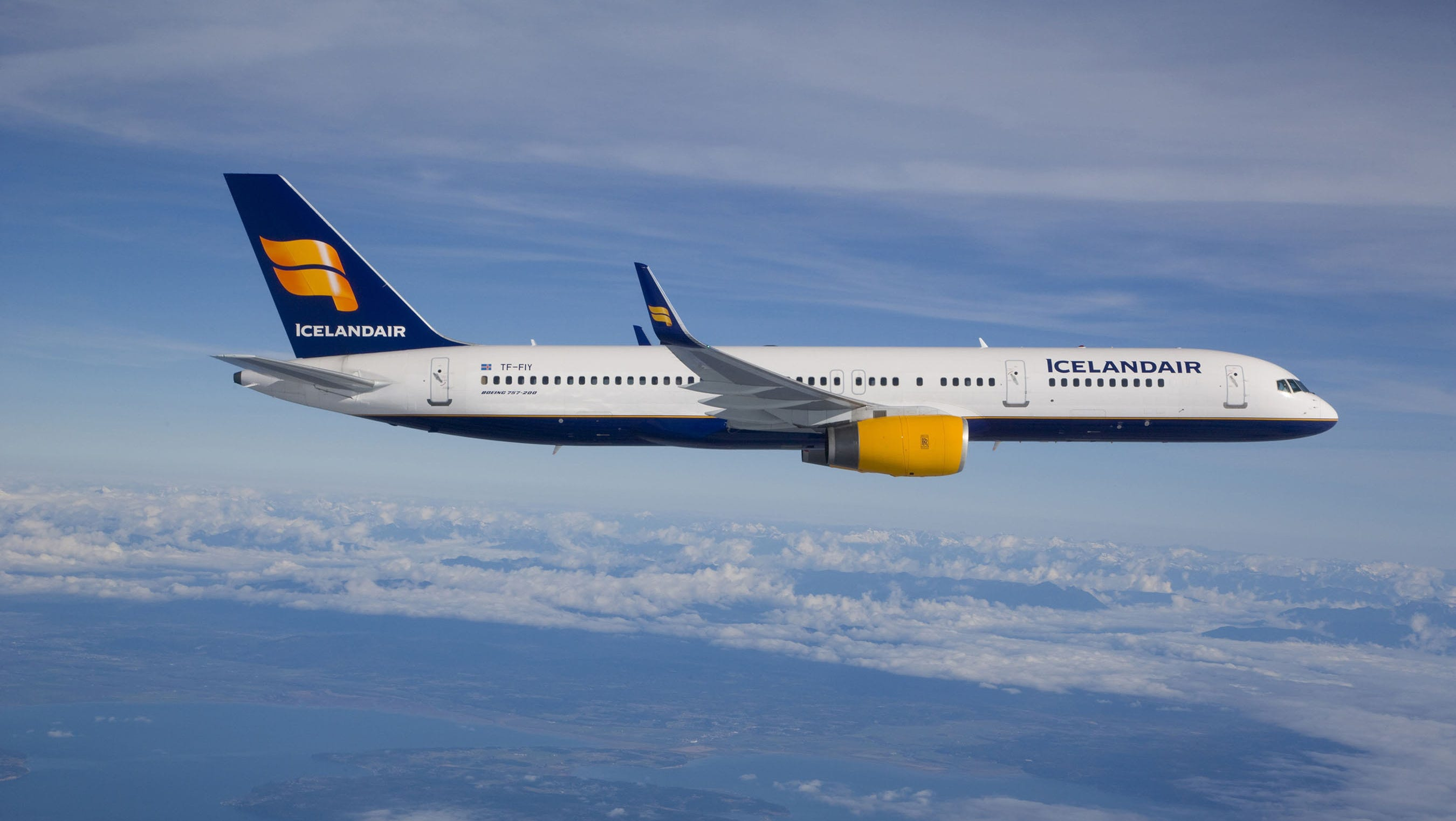 Original Icelandair Boeing 757 200 Seating