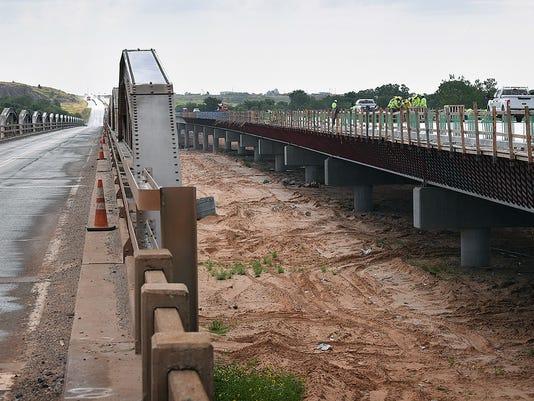 Hwy 79 Bridge Work 1