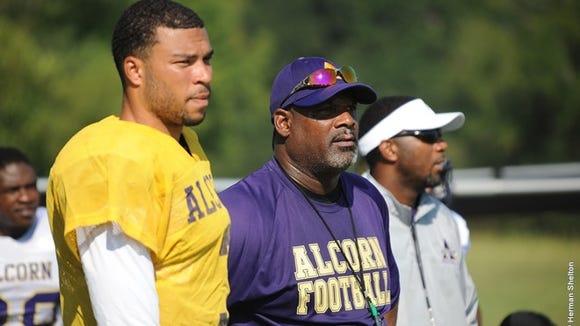 Alcorn State assistant head coach and quarterbacks