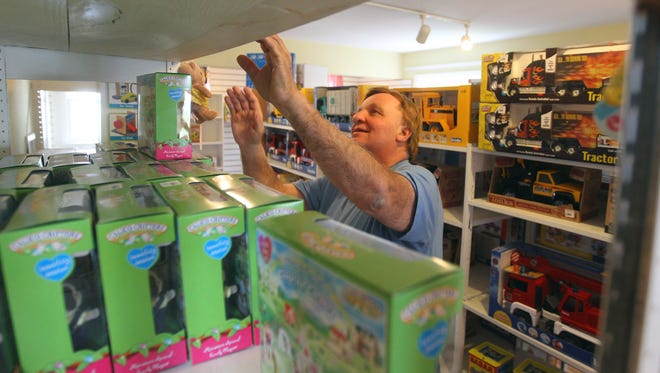Dennis Mietz, owner of The Toy Soldier in Fairport, is closing the quaint toy store.